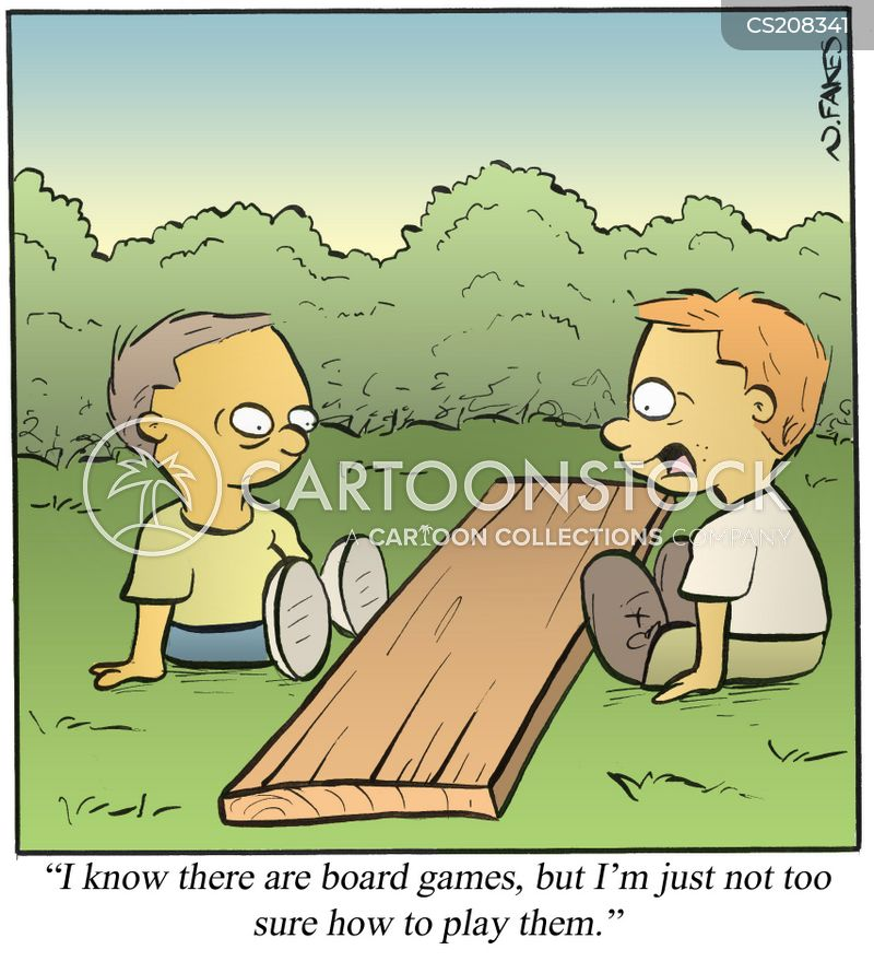 board-games cartoon