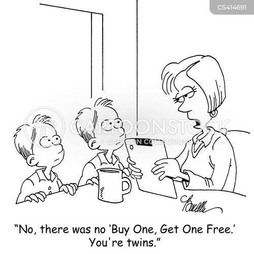 buy one get one free cartoon