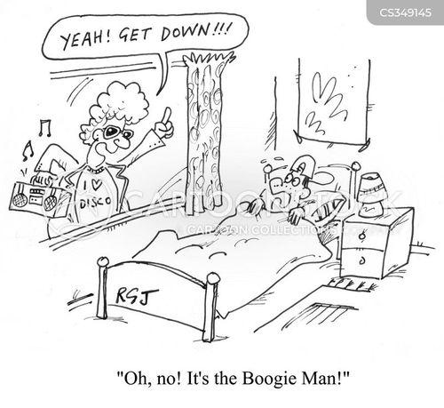 bogie men cartoon