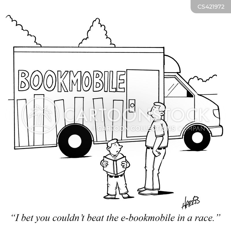 bookmobile cartoon