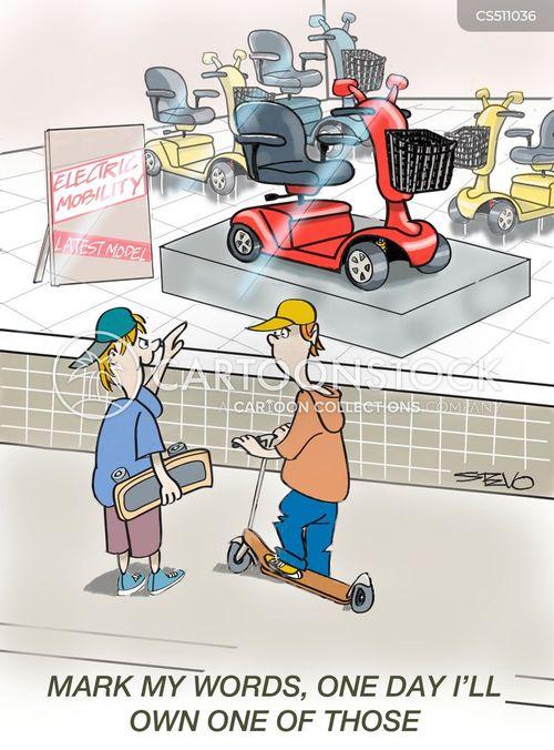 shopfront cartoon