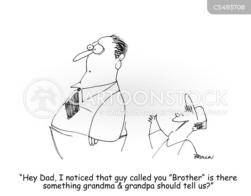 half-brothers cartoon