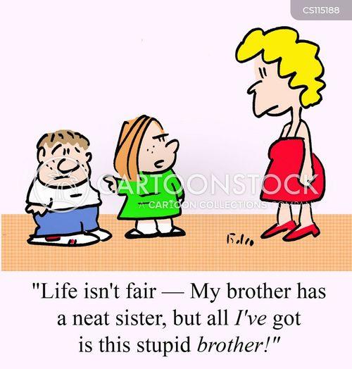 annoying siblings cartoon