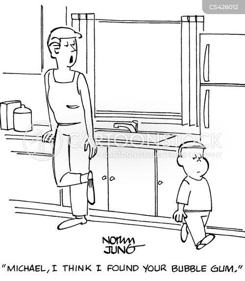 bubble gums cartoon