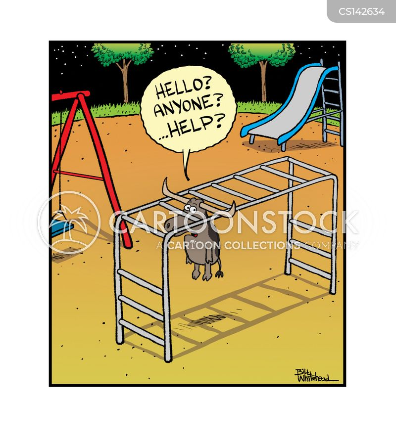 play equipment cartoon