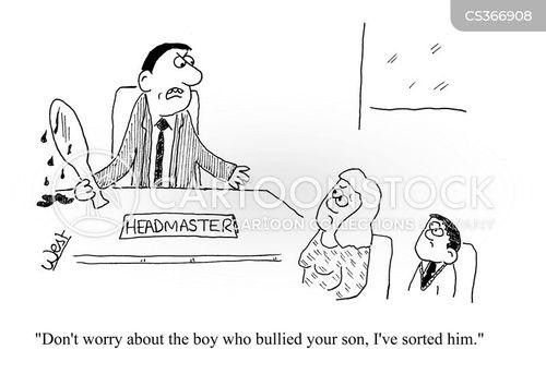 parent-teacher meeting cartoon