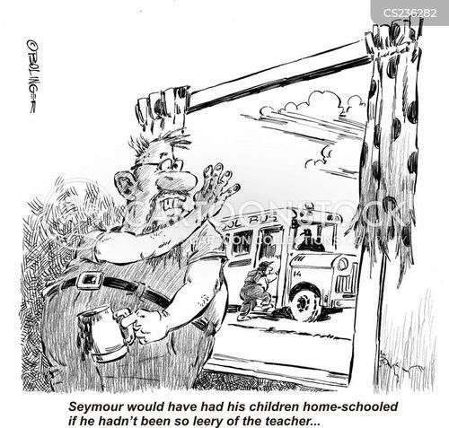 self-taught cartoon