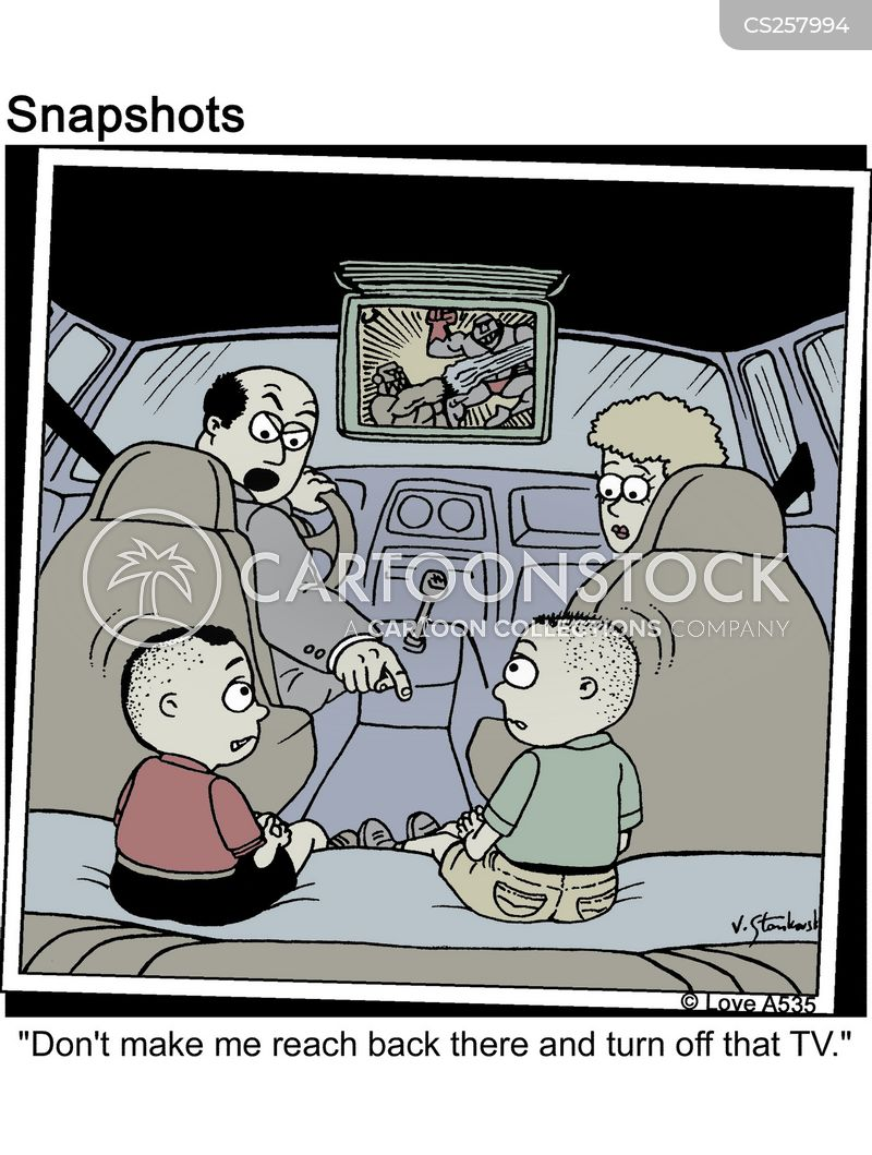 Kids In Cars Cartoons And Comics Funny Pictures From Cartoonstock