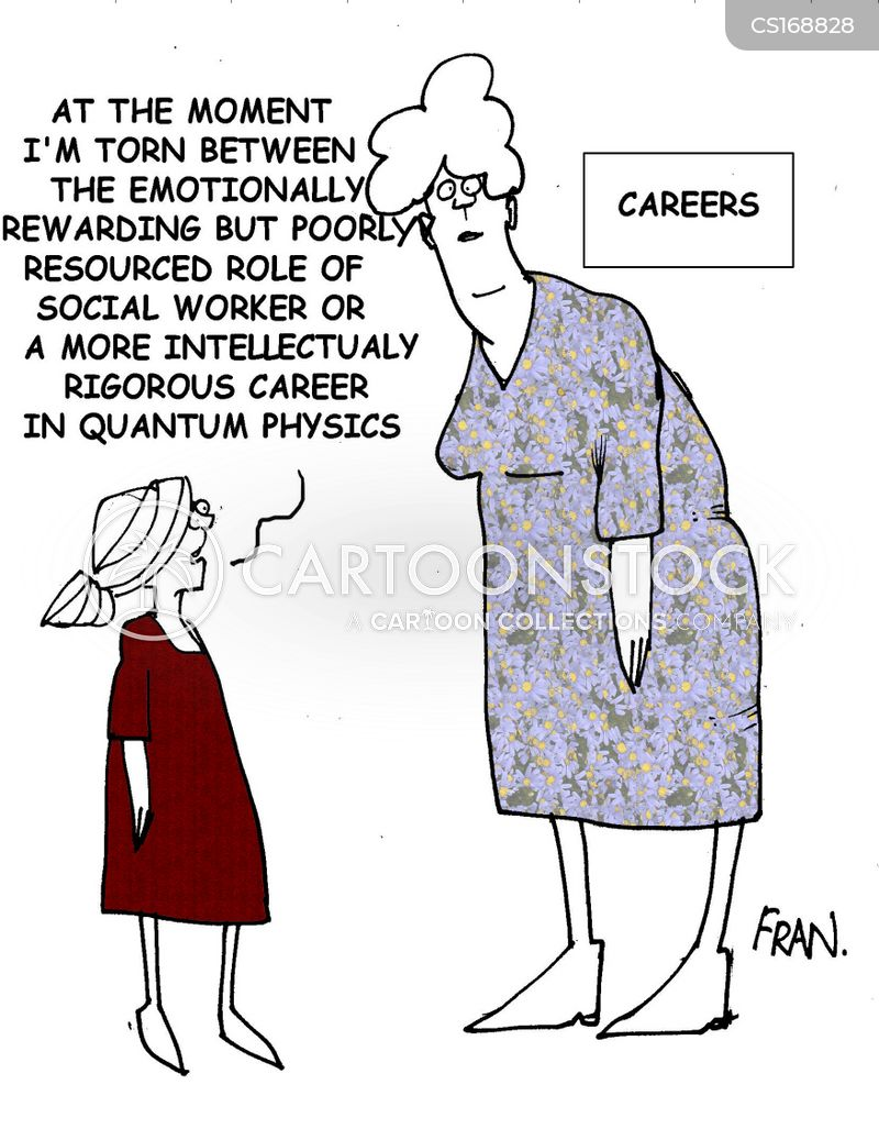 social worker cartoon