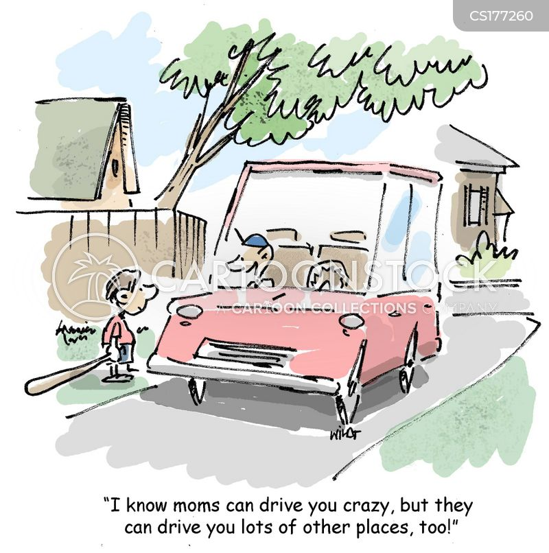 carpool cartoon
