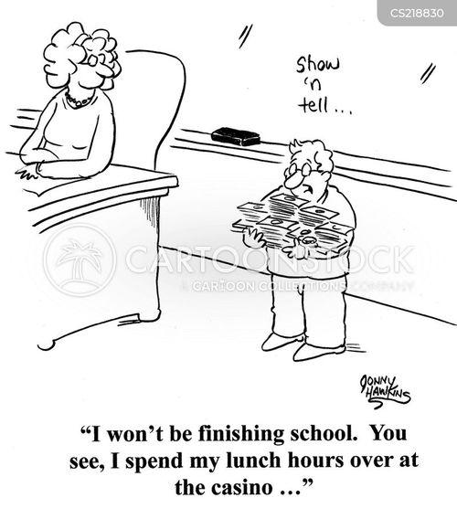 grammar school cartoon