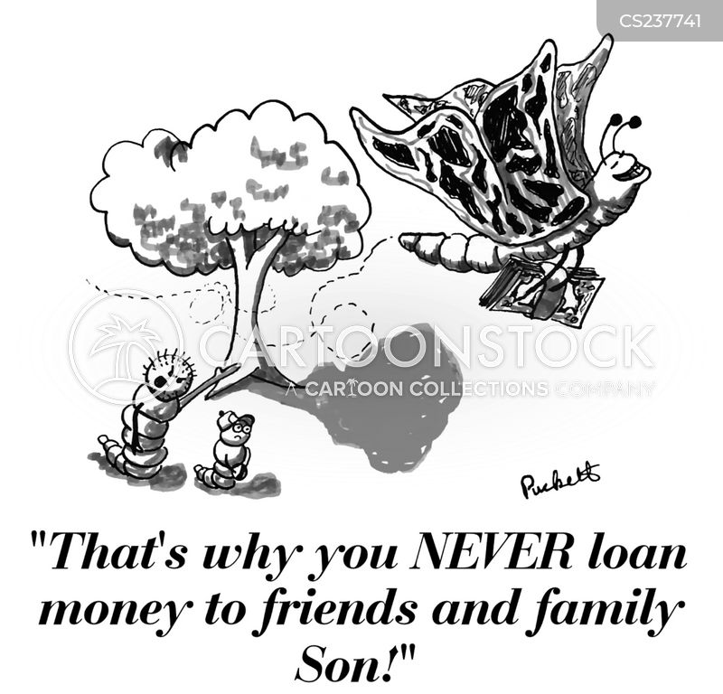friends and family cartoon