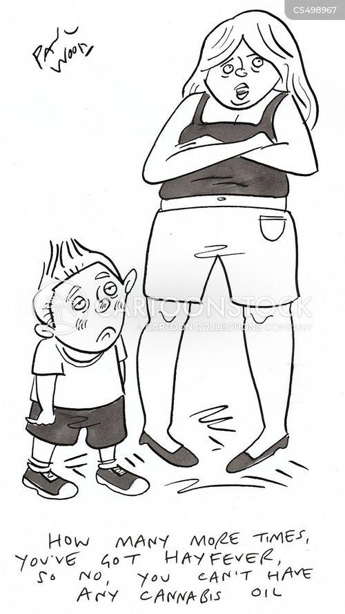 hay-fever cartoon