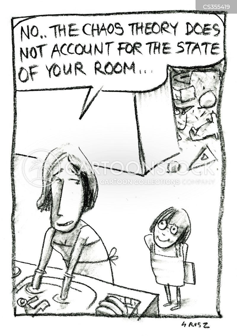 messy bedrooms cartoon
