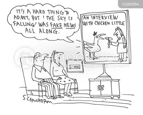 chicken little cartoon