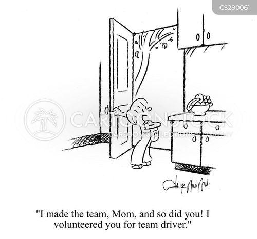 tryouts cartoon
