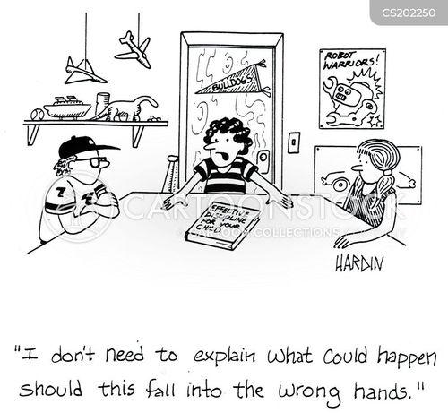 good behaviour cartoon