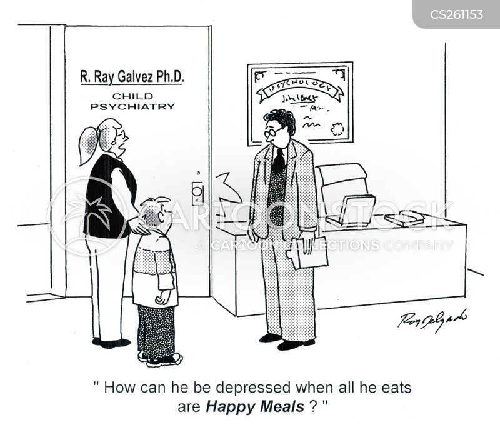 mental disorders cartoon