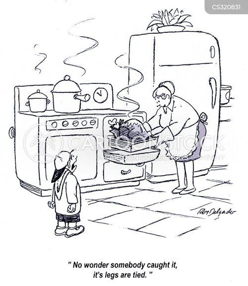 roasted cartoon