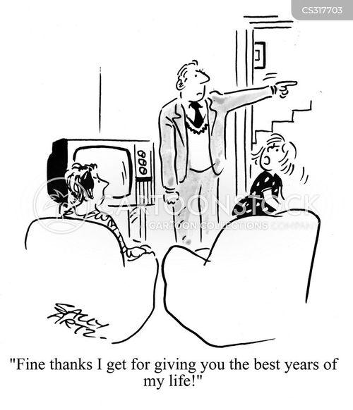 best years cartoon