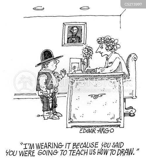 cowboy outfit cartoon