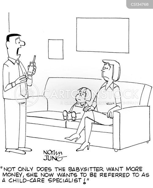 babysat cartoon