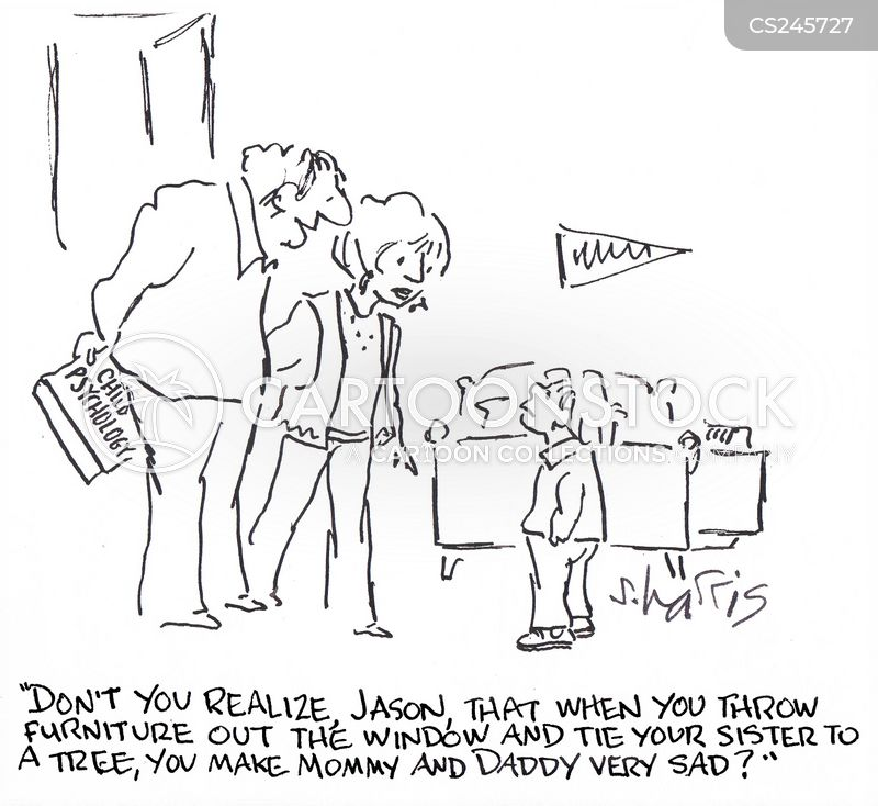 misbehaves cartoon