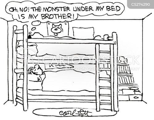 childhood monsters cartoon
