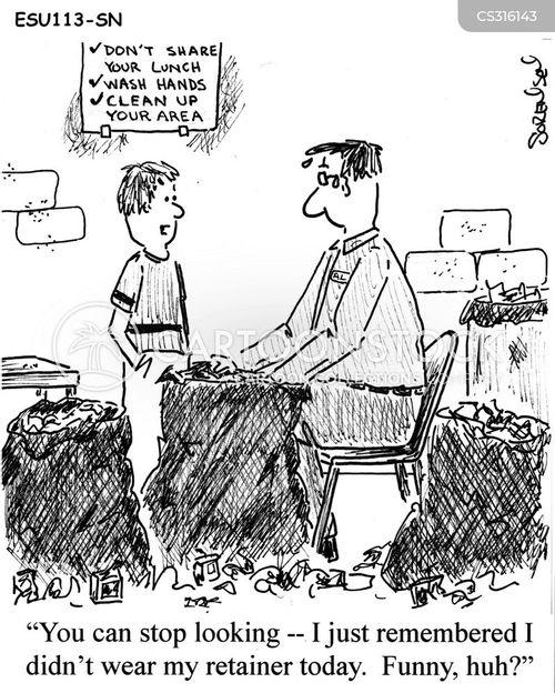 brace cartoon