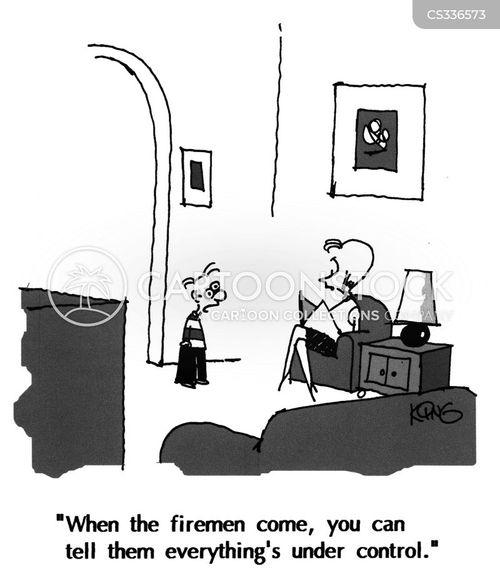 fire department cartoon