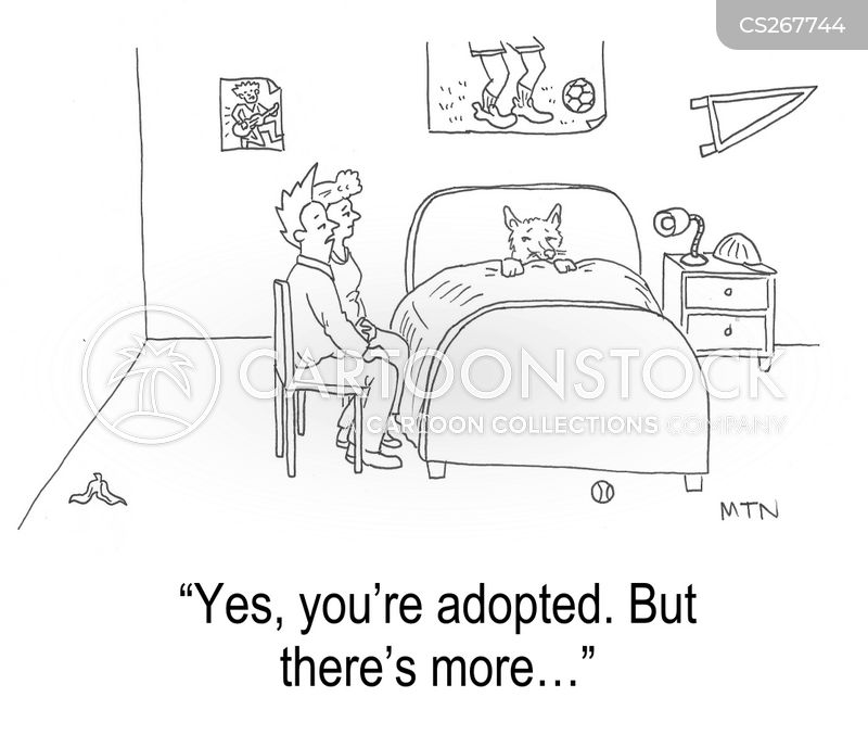 adopted child cartoon