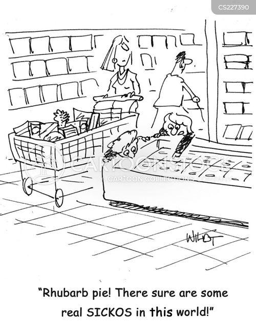 rhubarb cartoon