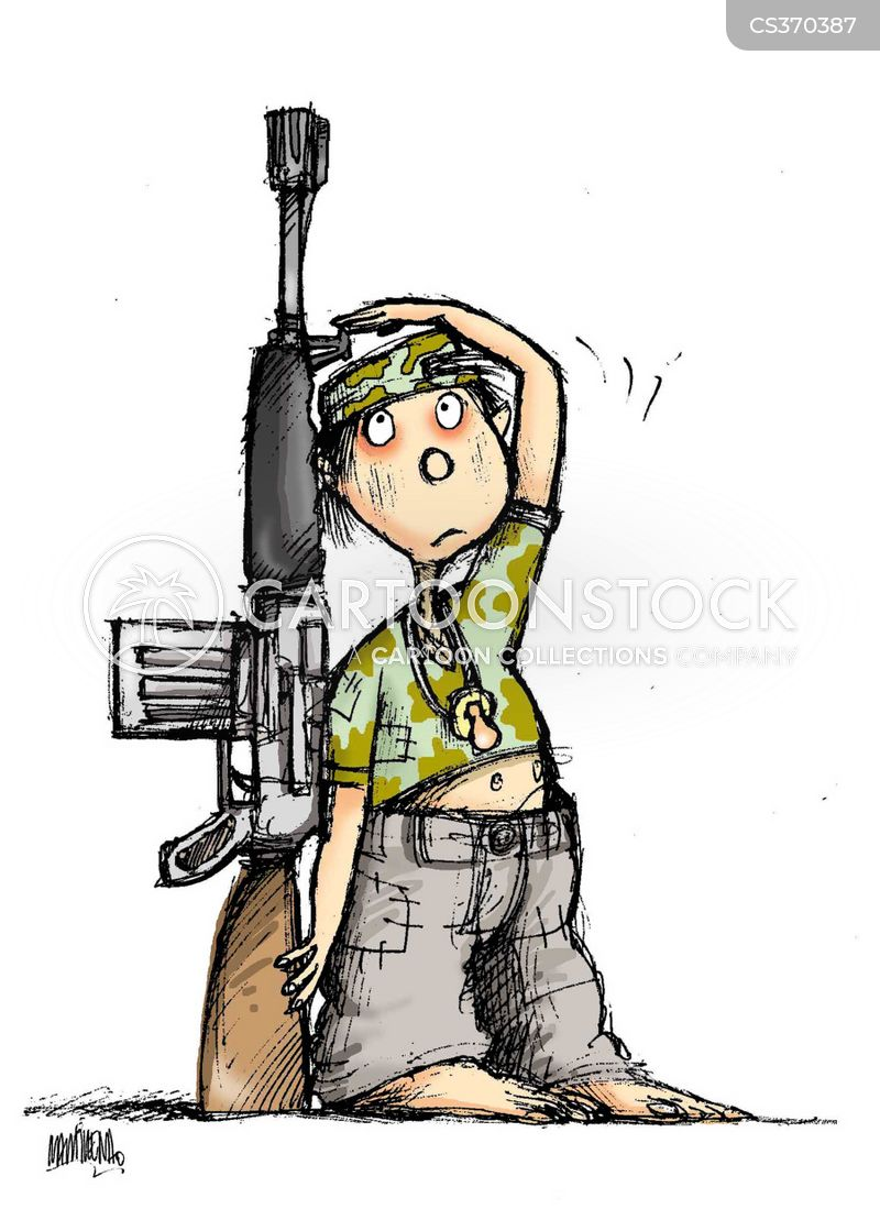 Children Of War Cartoons and Comics - funny pictures from CartoonStock