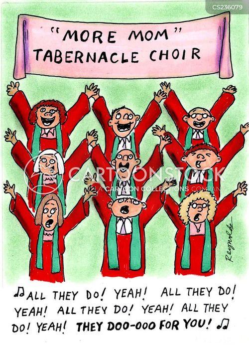 tabernacle choir cartoon