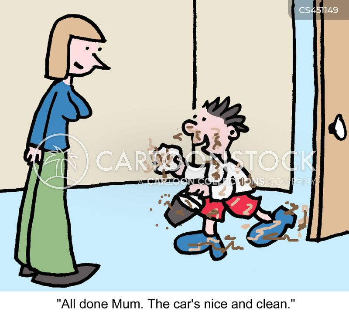 childlike cartoon