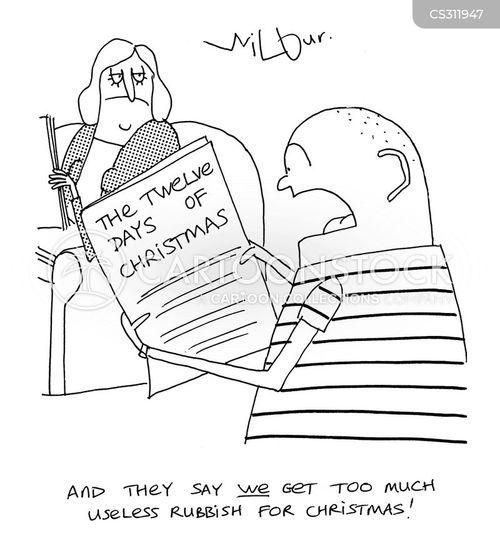 partridge cartoon