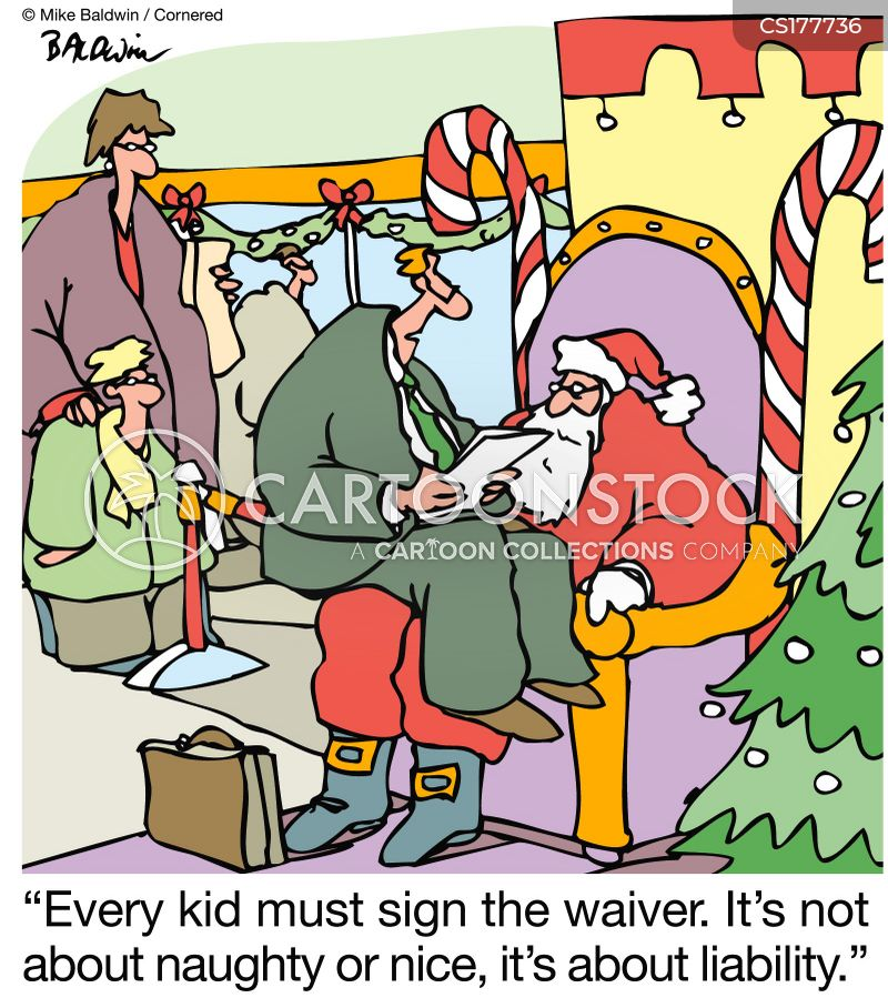 Christmas Gift Cartoons and Comics - funny pictures from CartoonStock