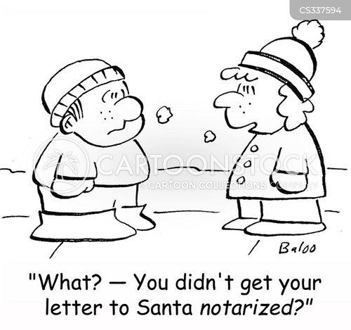 notarized cartoon