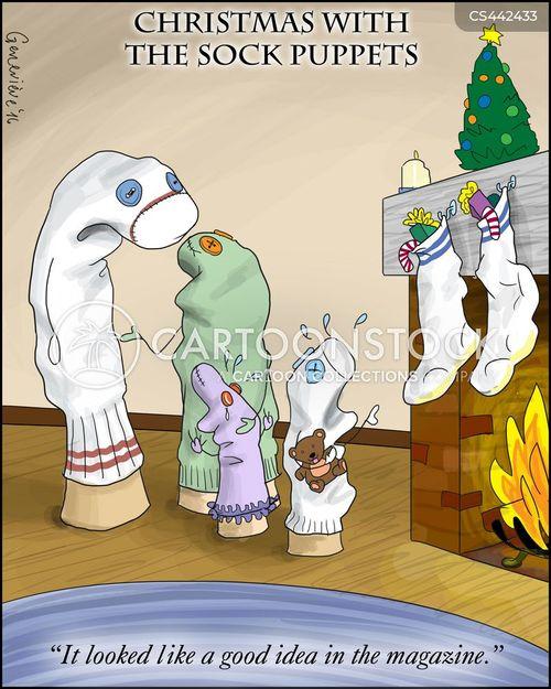 xmas tradition cartoon