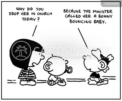 child minding cartoon