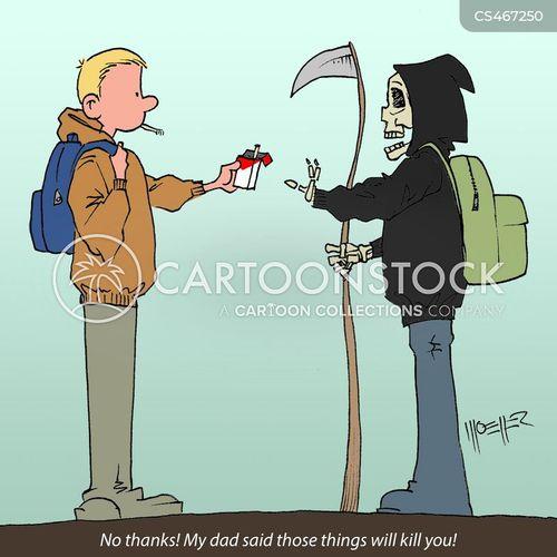 peer-pressure cartoon