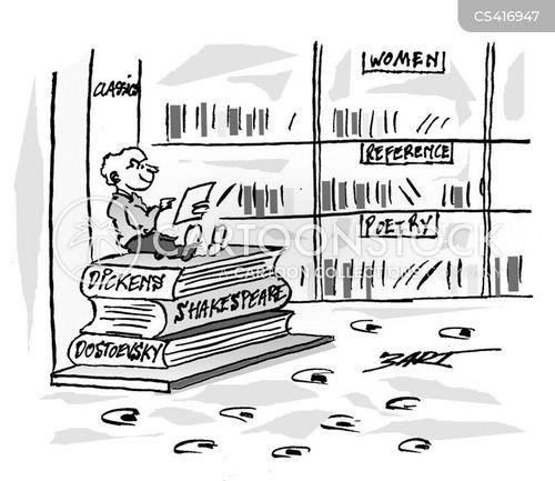 dostoevsky cartoon