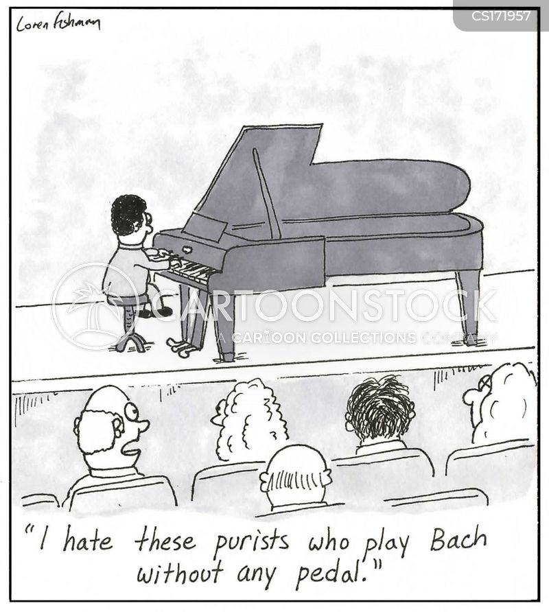 bach cartoon