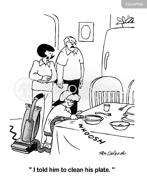 washes up cartoon