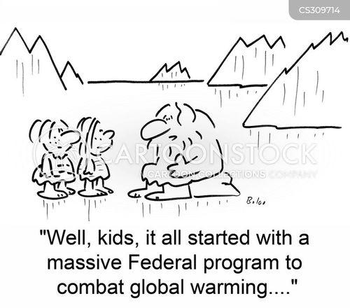 federal program cartoon
