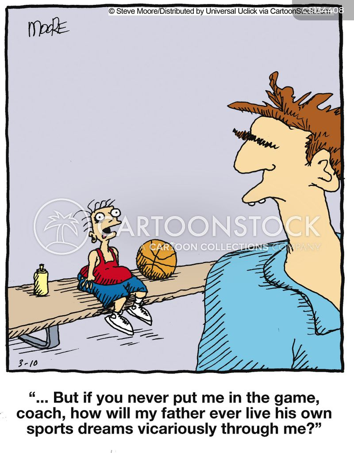 pushy parents cartoon