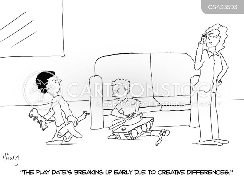 play-date cartoon