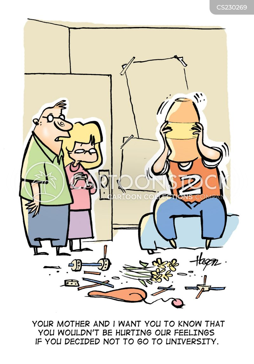 secondary education cartoon