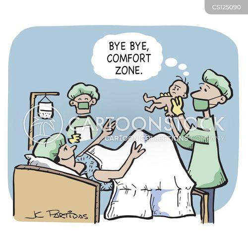 comfort zone cartoon