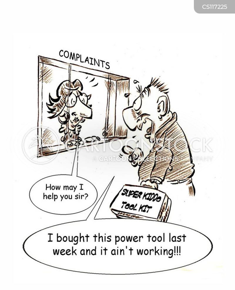 Costumer Is Always Right cartoon 1 of 1  sc 1 st  CartoonStock & Costumer Is Always Right Cartoons and Comics - funny pictures from ...
